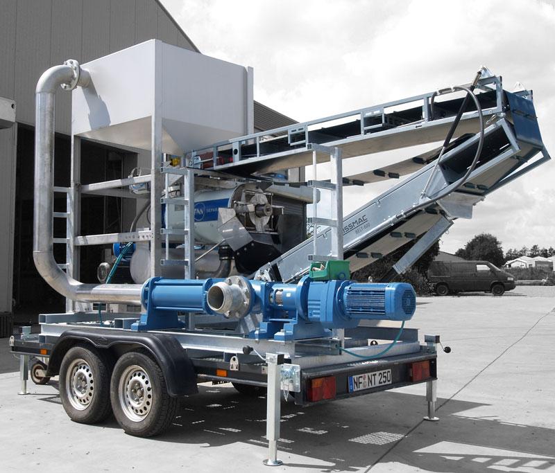 mobile separation north tec biogas. Black Bedroom Furniture Sets. Home Design Ideas